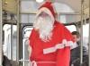 Der Nikolaus in der Straßenbahn